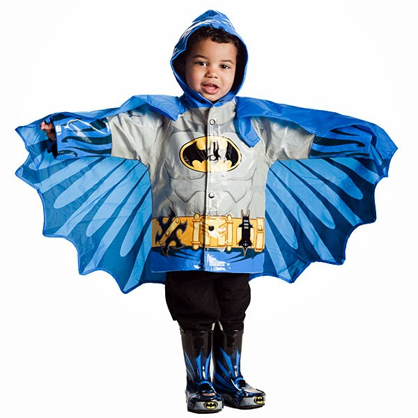 countdown to kitschmas, kitschmas, gift guide, holiday shopping, gifts for kids, thinkgeek, qvc, holiday 2013, superhero raincoat, batman, spiderman