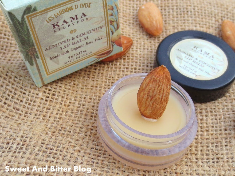 Kama Ayurveda Almond & Coconut Lip Balm with Organic Bees Wax
