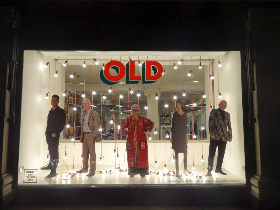 Selfridges Shopwindow Bright Old Things 2015