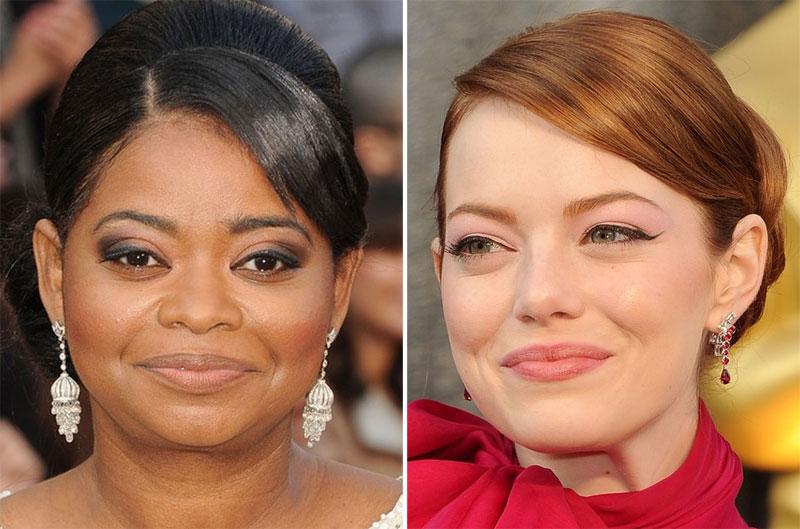 make4 As melhores maquiagens do Oscar 2012