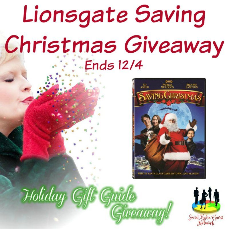 Saving Christmas DVD Giveaway