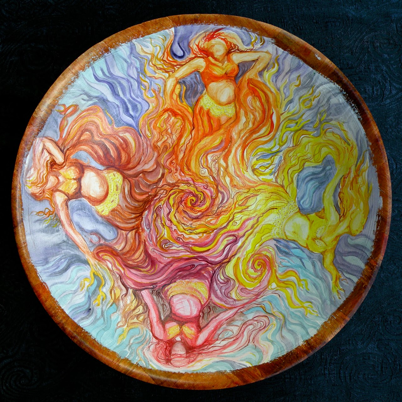 """""""Manifesting"""" by Alica Wolter-Hausser."""