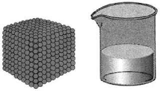 Volume untuk menentukan kemolaran zat murni adalah volume zatnya sendiri, bukan volume wadah (kemolaran zat murni = mol zat/ volume zat)