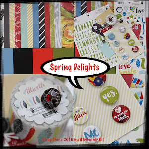 Scrap Shotz April 2016 Monthly Kit