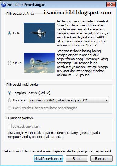 simulator penerbangan