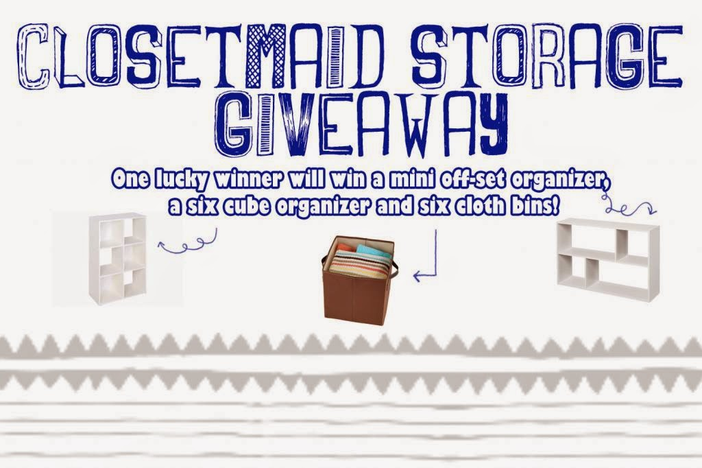 Ultimate Closetmaid Storage Giveaway