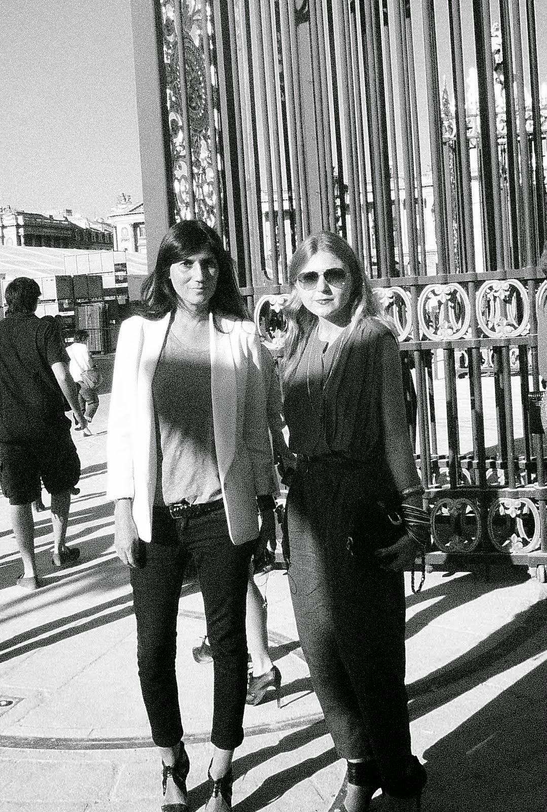 With Emmanuelle Alt