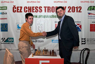 Echecs à Prague : Svidler 1.5-0.5 Navara - Photo © site officiel
