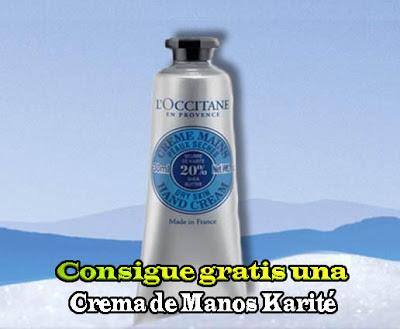 Consigue gratis una Crema de Manos Karité