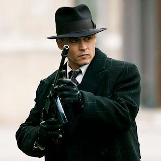 Johnny Depp Haircut in Public Enemies