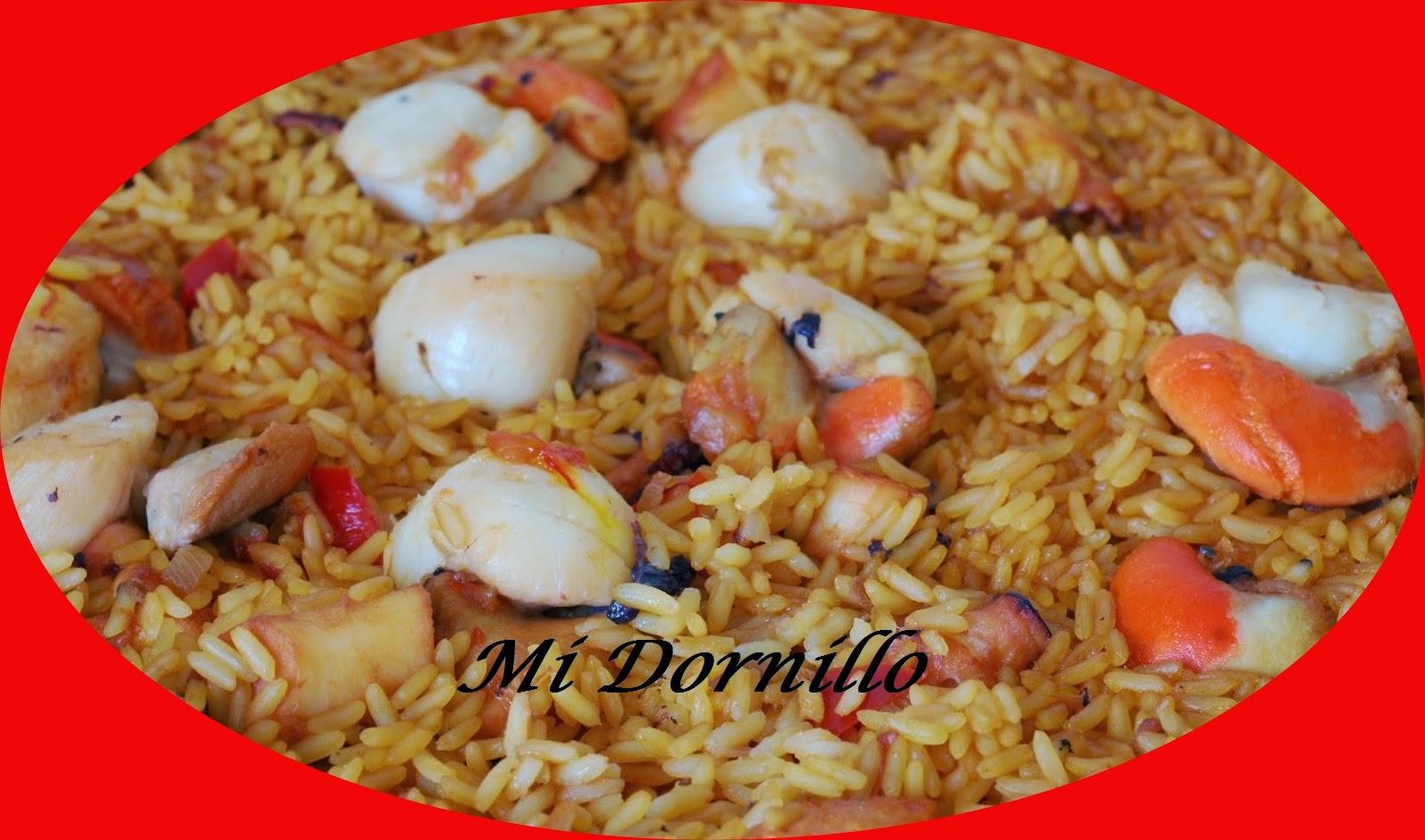 Mi dornillo la cocina de estela arroz con pulpo y for Mi cocina malaga