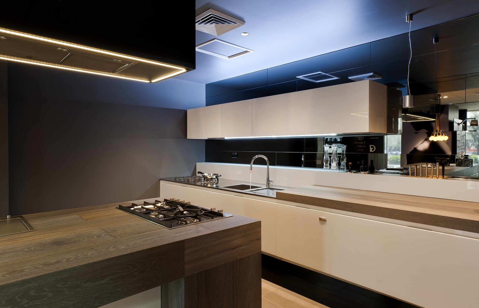Gentil Created For Abey Australia In Their Kitchen U0026 Bathroom Selection Centre.  The Brief Was To Create A Stunning Kitchen Using The Wonderful Barazza  Cooking ...