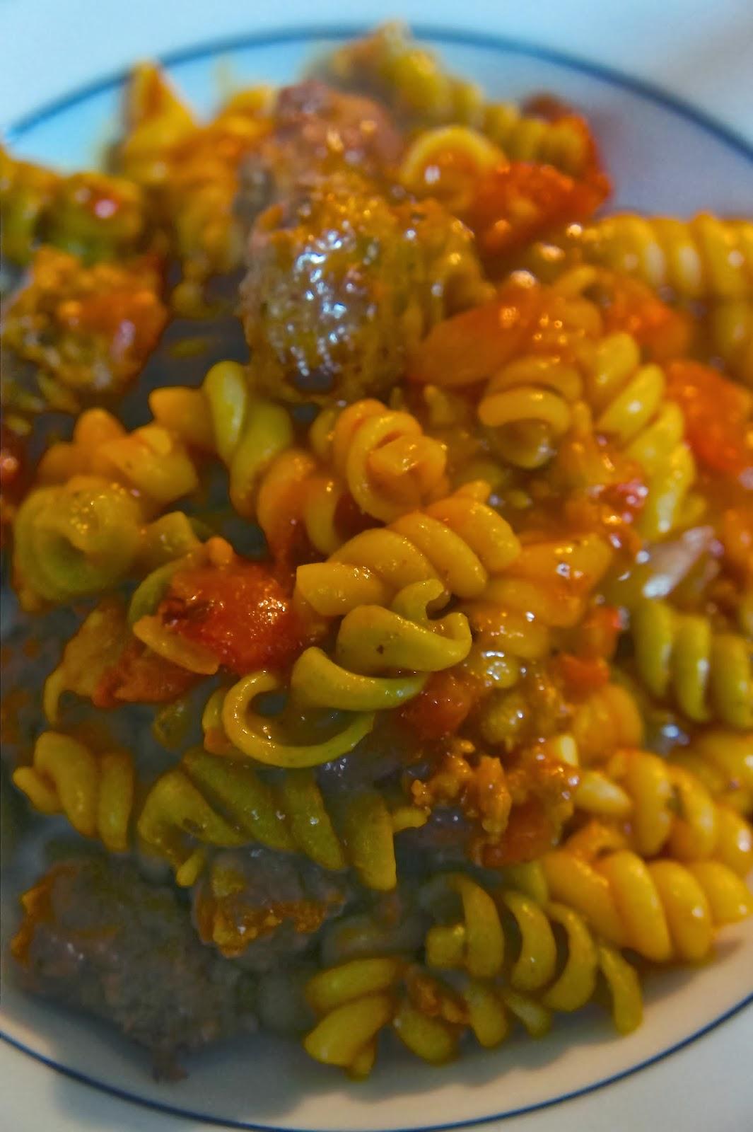 Savory, Sweet and Satisfying: Skillet Pasta Roma