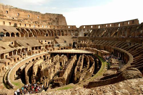 As 7 Curiosidades do Mundo Moderno - 6º Lugar: Coliseu de Roma, Itália