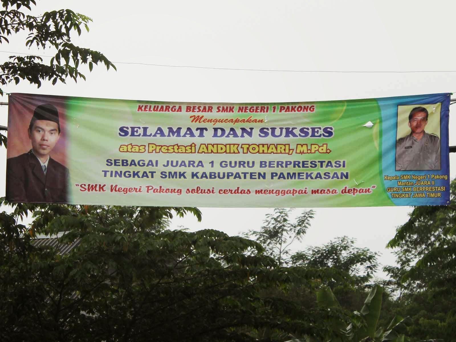 Juara Guru Prestasi Tingkat SMK Kabupaten Pamekasan Momentum Hari Pendidikan Nasional