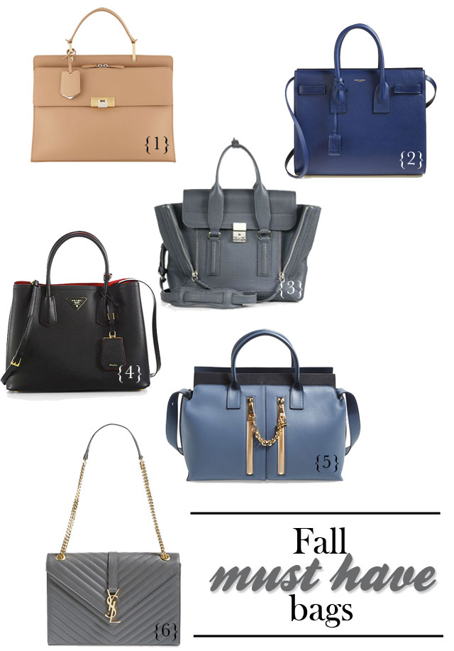 I am Style-ish {Seattle Fashion and Beauty Blog}: Fall Bags! Must ...