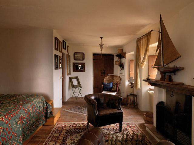 casa rural en italia suite habitacion