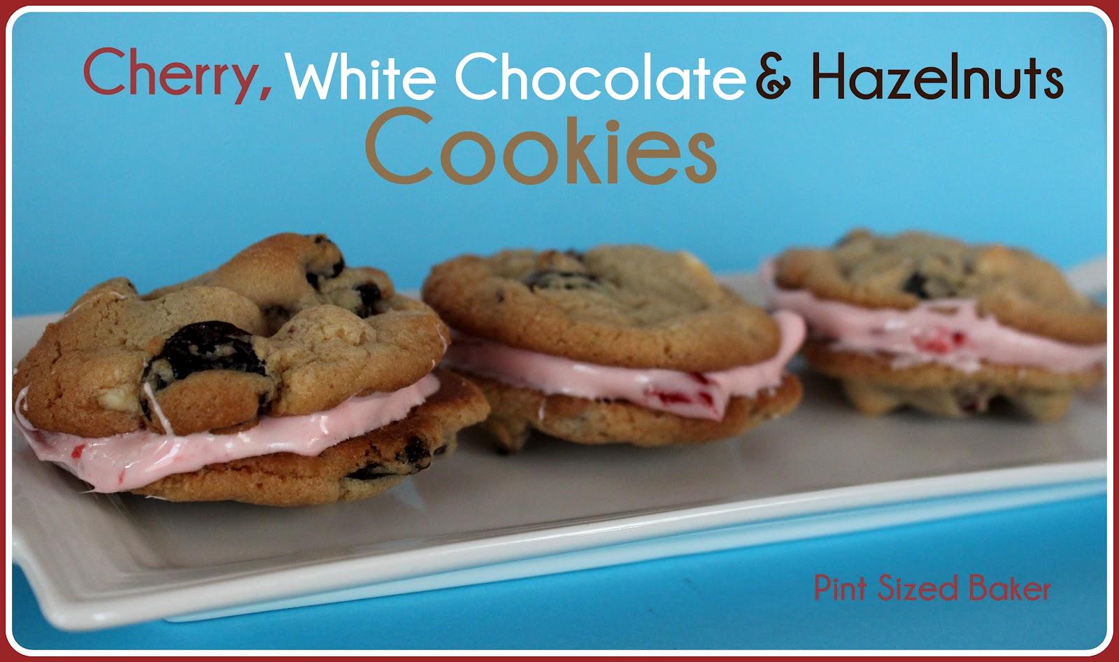 Pint Sized Baker: White Chocolate Cherry Cookies