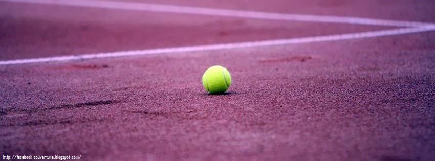 Une couverture facebook tennis