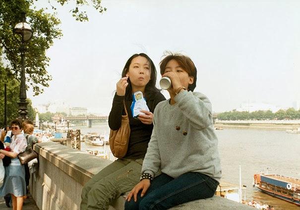 Chino Otsuka digital manipulation old photos insert actual herself