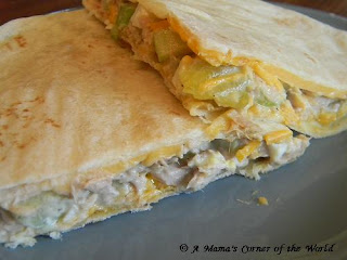 Quick and Easy Tuna Melt Quesadilla