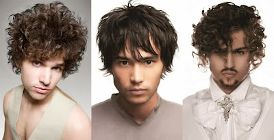Contoh Potongan Rambut Pria Berwajah Segitiga