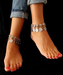 Joanna P. Adler, mirror heart anklet in Sweden, best Body Piercing Jewelry