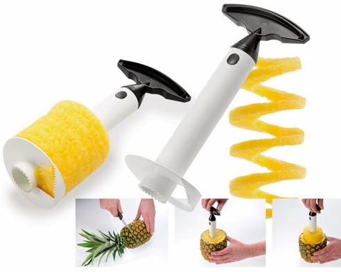 Vaciador de piñas para arreglos frutales