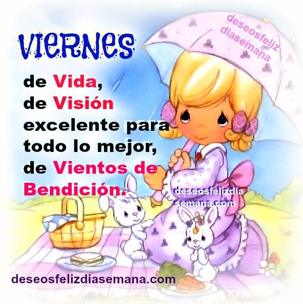 viernes feliz, imagen cristiana, bendiciones, frases cristianas para muro fb, Mery Bracho, mensaje Viernes