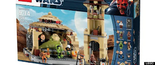 Racist Lego Star Wars set, Jabba's Palace set, Jabba the hut, racist