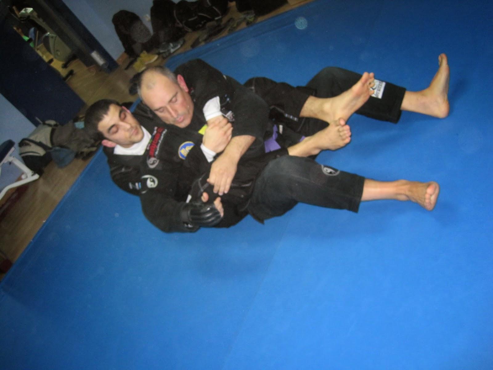 Jose Reina y Jose Serral. Brazilian Jiu Jitsu Terrassa
