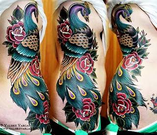 Fotos e desenhos de pavão para tatuar