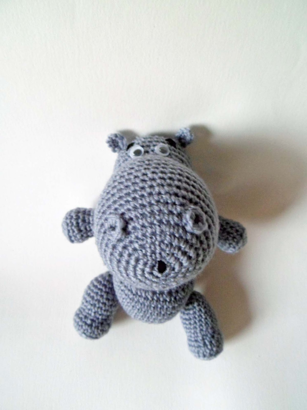 Hipopotamo AMIGURUMIES