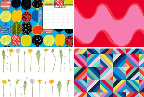 Marimekko designer desktop wallpaper
