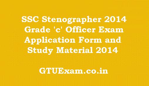 SSC Grade 'C' Stenographers