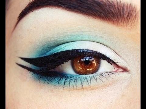Double Winged Eyeliner Tutorial 2014-2015 For Women [So ...