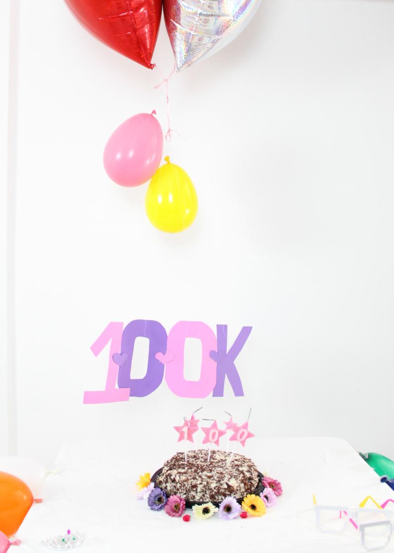 comemoração 100 mil inscritos no Youtube