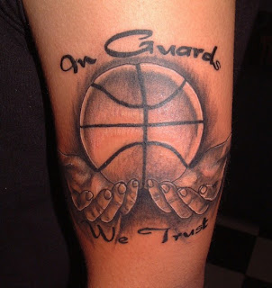 crazy tattoo trend delightful collection of basketball tattoos. Black Bedroom Furniture Sets. Home Design Ideas