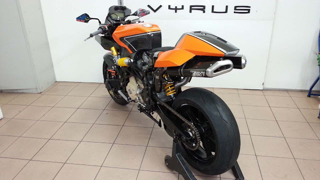Vyrus Hub Centre Motorcycle 984 Ultimate Edition