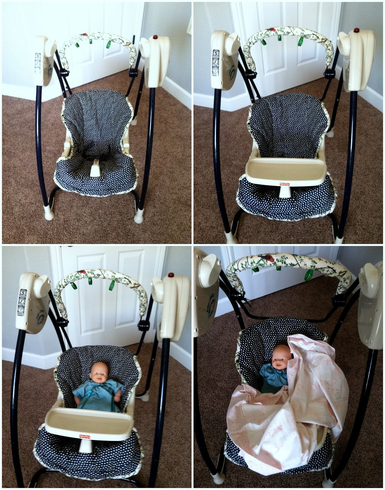 Getz Blogging Diy Baby Swing Seat Cover