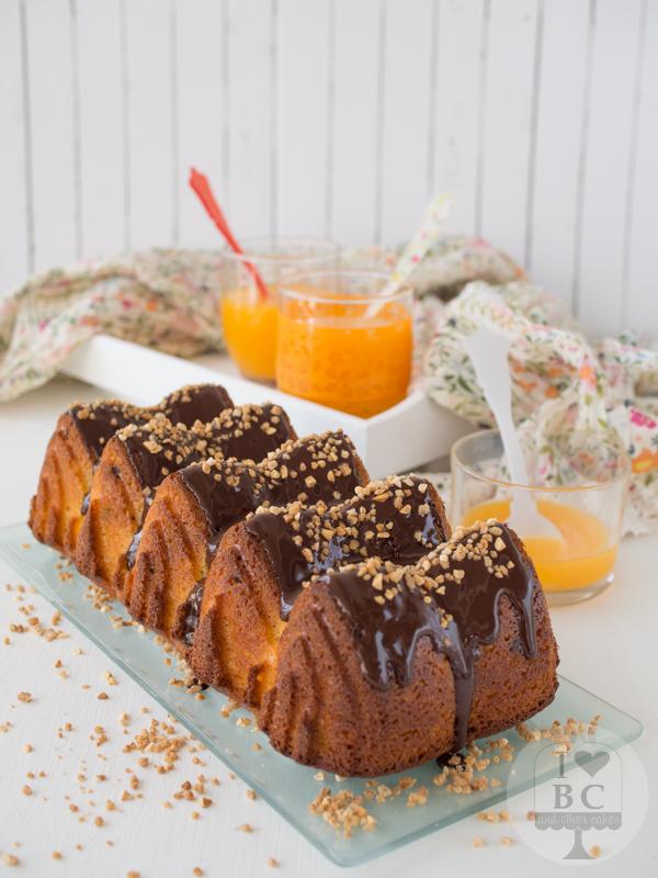 Loaf Cake de naranja, almendras y chocolate
