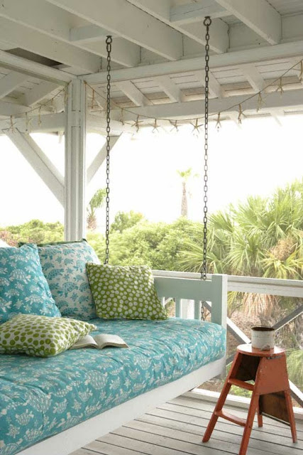 wicker porch swings