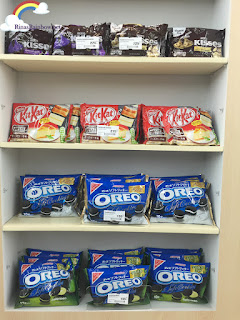 Oreo Kit Kat Hersheys