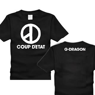 g dragon 2013 coup detat  DRAGON 'Coup D'etat' Merchandise