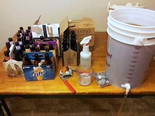 Bottling homebrew equipment
