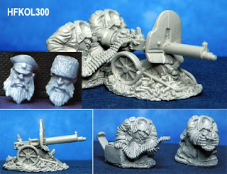 Hasslefree Miniatures Kolektiv Dwarves Heavy Machine Gun Team
