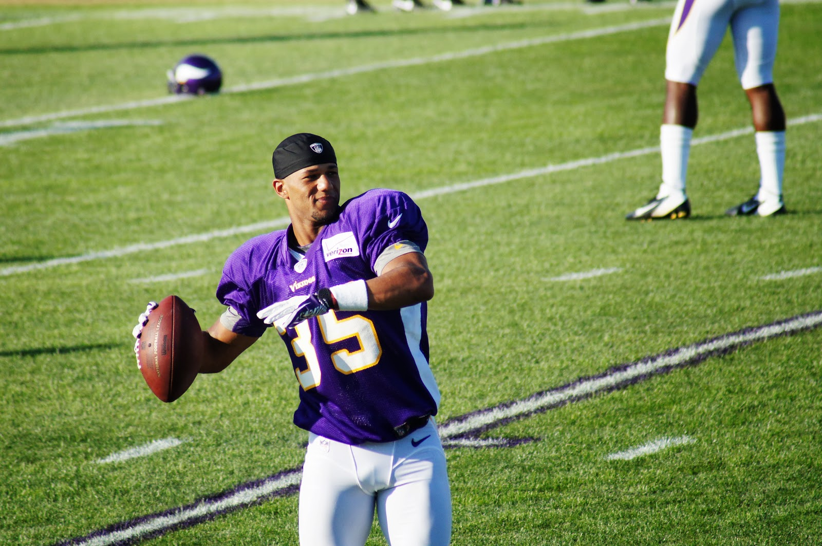 NFL Jerseys Cheap - Purplestick: The Marcus Sherels story keeps on going