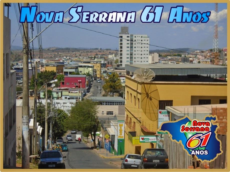 Nova Serrana 61 Anos