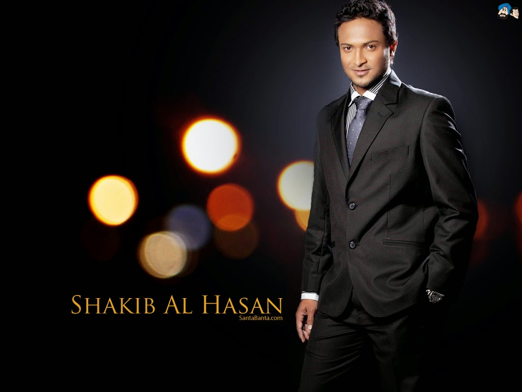 Dashing Sakib al hasan in awesome look Shakib Al