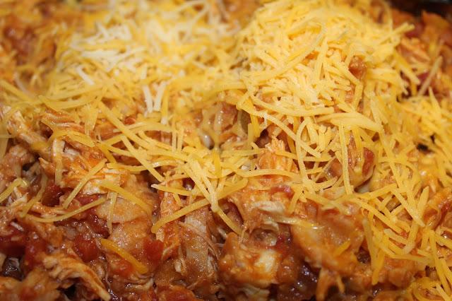 chicken enchilada skillet recipe